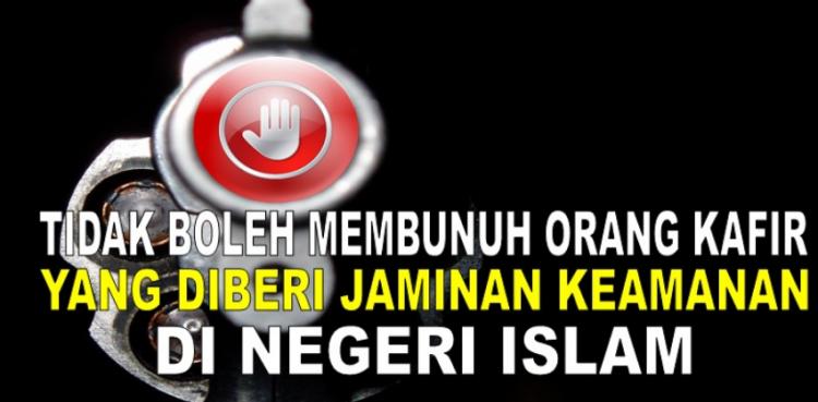Kafir menurut Islam yang ada jaminan keamanan